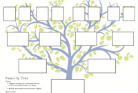 Family Tree Printable – Google Search | Family Tree Chart pertaining to Blank Family Tree Template 3 Generations