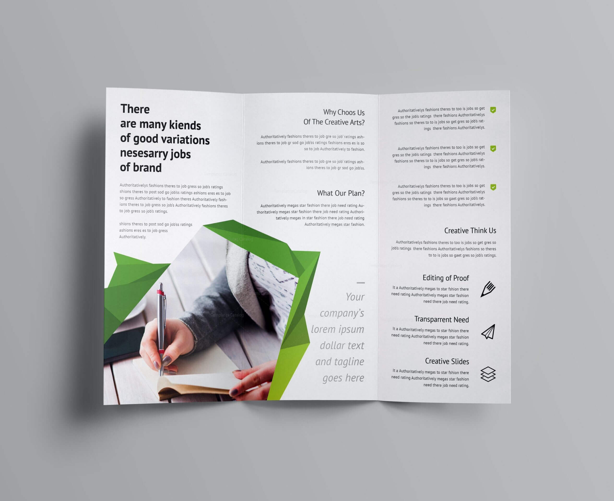 Fancy Business Tri Fold Brochure Template 001170 | Brochure With Regard To Fancy Brochure Templates