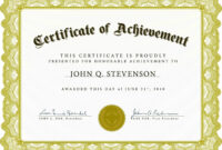 Farewell Certificate Template Archives – 10+ Professional inside Farewell Certificate Template