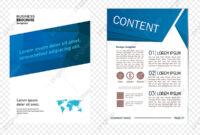 Fashion Geometry Single Page Design, Geometric Folding for Single Page Brochure Templates Psd