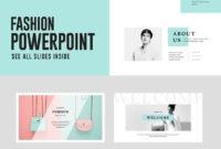 Fashion Powerpoint Presentation Template Free – Free in Powerpoint Slides Design Templates For Free