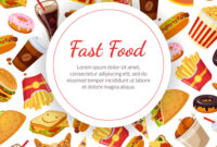 Fast Food Banner Template Restaurant Cafe Design intended for Food Banner Template