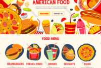 Fast Food Restaurant Menu Banner Template within Food Banner Template