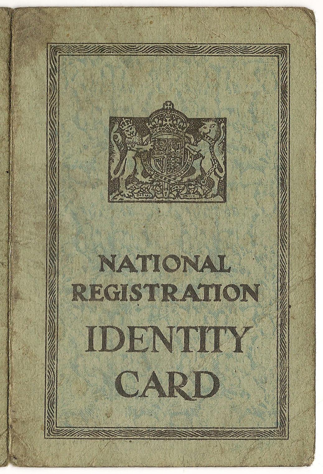 File:id Card - Wikimedia Commons Inside World War 2 Identity Card Template