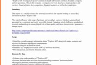 Financial Analysis Report Samples Spreadsheet Template in Company Analysis Report Template