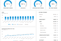 Financial Dashboards – See The Best Examples & Templates intended for Financial Reporting Dashboard Template