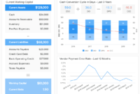 Financial Dashboards – See The Best Examples & Templates regarding Liquidity Report Template