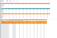 Financial Projection Template – Download Free Excel Template throughout Liquidity Report Template
