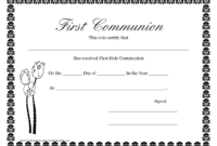 First Communion Banner Templates | Printable First Communion intended for First Holy Communion Banner Templates