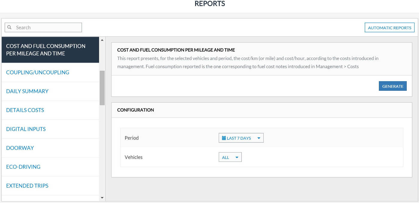 Fleet Management Reports – Frotcom Throughout Fleet Management Report Template