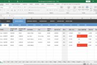 Fleet Management Spreadsheet Excel throughout Fleet Report Template