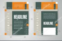 Flyer Brochure Design Template Engineering Abstract regarding Engineering Brochure Templates