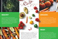 Food Brochure Template Throughout Nutrition Brochure Template