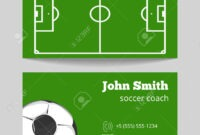 Football Card Template – Zimer.bwong.co in Soccer Trading Card Template