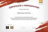 Football Certificate Background Stock Vectors, Royalty Free with regard to Rugby League Certificate Templates