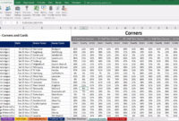 Football, Soccer Betting Odd Software. Microsoft Excel for Football Betting Card Template