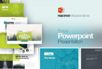 Forest Powerpoint Presentation #unique#business#fit#kind With Dominion Card Template