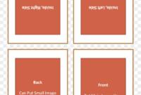 Four Fold Greeting Card Template 127614 – Quarter Fold intended for Quarter Fold Card Template