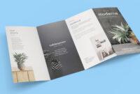 Free 4-Panel Quad-Fold Brochure Mockup Psd – Good Mockups throughout Brochure 4 Fold Template
