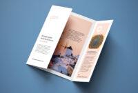 Free A4 Single-Gate Fold Brochure Mockup Psd Set – Good Mockups within Single Page Brochure Templates Psd