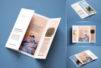 Free A4 Single-Gate Fold Brochure Mockup Psd Set | Graphic in Gate Fold Brochure Template Indesign