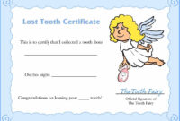 Free And Best Invoice Templates Find Various Including Tooth throughout Free Tooth Fairy Certificate Template