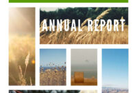 Free Annual Report Templates & Examples [6 Free Templates] within Annual Report Template Word Free Download