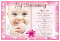 Free Baptism Invitation Templates Printable | Christening regarding Free Christening Invitation Cards Templates