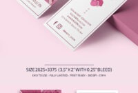 Free Beauty Salon Business Card Template | Free-Psd-Templates throughout Hairdresser Business Card Templates Free