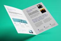 Free Bi-Fold A4 Brochure Mockup Psd – Good Mockups throughout 2 Fold Brochure Template Psd