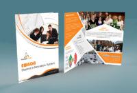 Free Bi-Fold Brochure Psd On Behance regarding Single Page Brochure Templates Psd