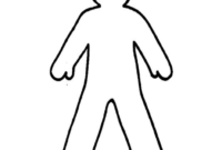 Free Blank Person Outline, Download Free Clip Art, Free Clip within Blank Body Map Template