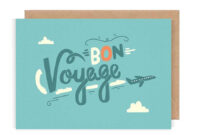 Free Bon Voyage, Download Free Clip Art, Free Clip Art On with Bon Voyage Card Template