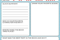 Free Book Report Printable – Great For Lower Primary Grades throughout Quick Book Reports Templates