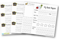 Free Book Report Template | 123 Homeschool 4 Me within Sandwich Book Report Template