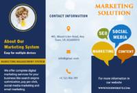 Free Brochure Maker -Create Custom Brochure Online | Photoadking with Online Brochure Template Free