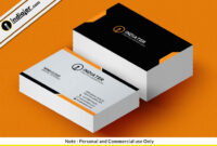 Free Business Card Sample Template Psd – Indiater with regard to Free Personal Business Card Templates