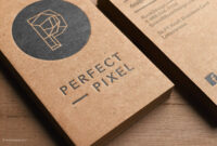 Free Business Cards Kraft Paper Template Design | Free with regard to Christian Business Cards Templates Free