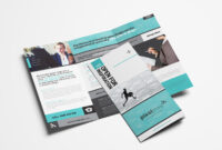 Free Business Trifold Brochure Template In Psd & Vector throughout Free Tri Fold Business Brochure Templates