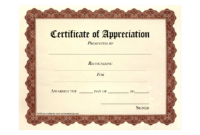 Free Certificate Of Appreciation Award Certificate Of with regard to This Certificate Entitles The Bearer To Template