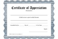 Free Certificate Templates For Best Teacher   Cv Sample inside Best Teacher Certificate Templates Free