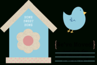 Free Change Of Address Printables- Sweet Bella Roos | Change with Moving Home Cards Template