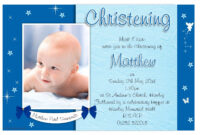 Free Christening Invitation Template Printable | Christening for Baptism Invitation Card Template
