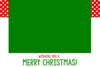 Free Christmas Card Templates – Crazy Little Projects for Christmas Note Card Templates