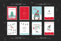 Free Christmas Card Templates For Photoshop & Illustrator with Christmas Photo Card Templates Photoshop