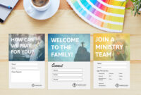 Free Church Connection Cards – Beautiful Psd Templates inside Church Visitor Card Template Word