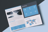 Free Company Profile Brochure Template (Id) in Technical Brochure Template