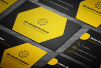 Free Construction Business Card Template On Student Show inside Construction Business Card Templates Download Free