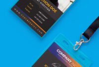 Free Creative Identity Card Design Template Psd   Inspirasi intended for Id Card Design Template Psd Free Download