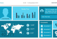 Free Dashboard Templates – with Free Powerpoint Dashboard Template